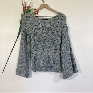 Forever 21 Chunky Knit Bell Sleeve Sweater
